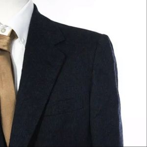 Hickey Freeman Suits & Blazers - HICKEY FREEMAN WOOL PIN STRIPED BLAZER 42R